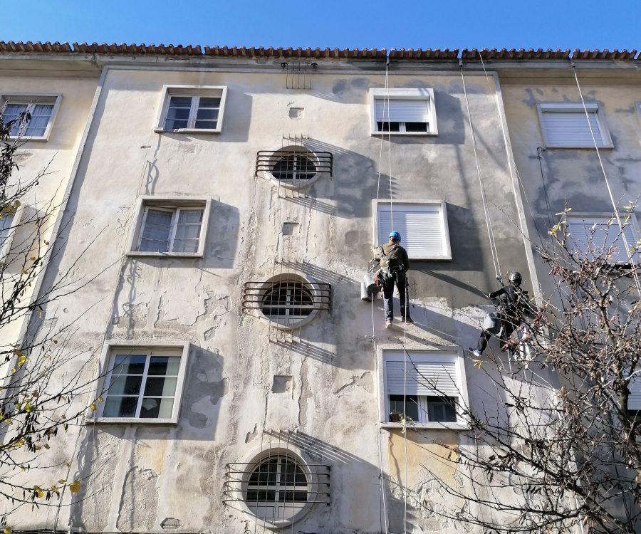 Serviço Diagonal de Remodelação de Edifícios