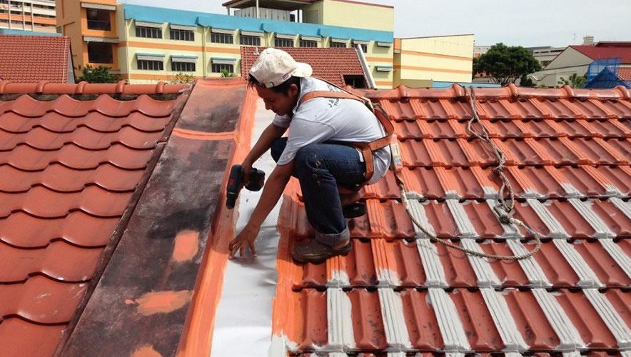 Serviço Diagonal Remodelação de telhado